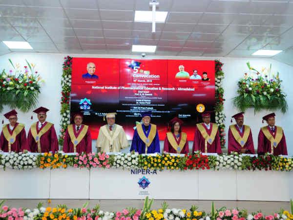 Niper Convocation Programme Held At Ahmedabad