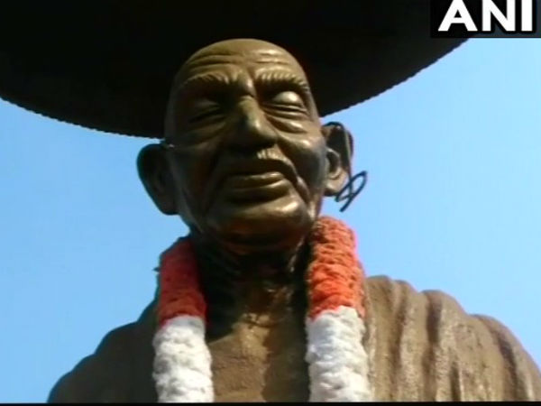 Mahatma Gandhi Statue Vandalised Kerala After Series Such Incidents