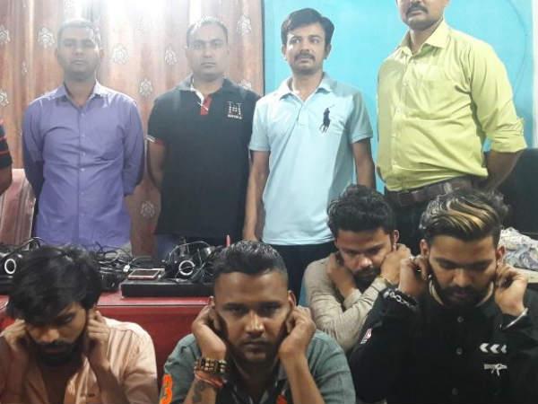 Ahmedabad Police Raid At Nikol Illegal Call Center