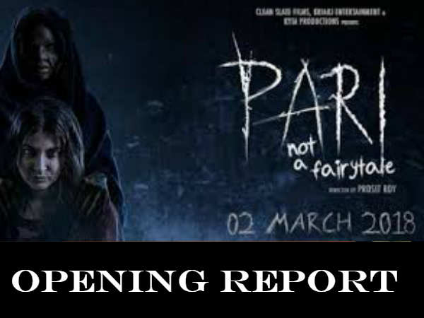 Pari Box Office Opening Occupancy Report Anushka S Film Starts Slow