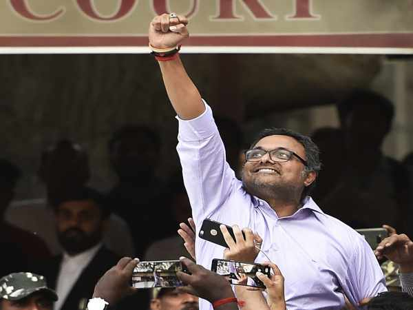 Inx Media Case Delhi High Court Tells Ed Not Arrest Karti