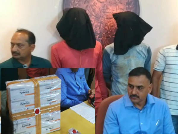 Vadodara Sog Arrested 2 People With More Than 1000 Drugs Inj