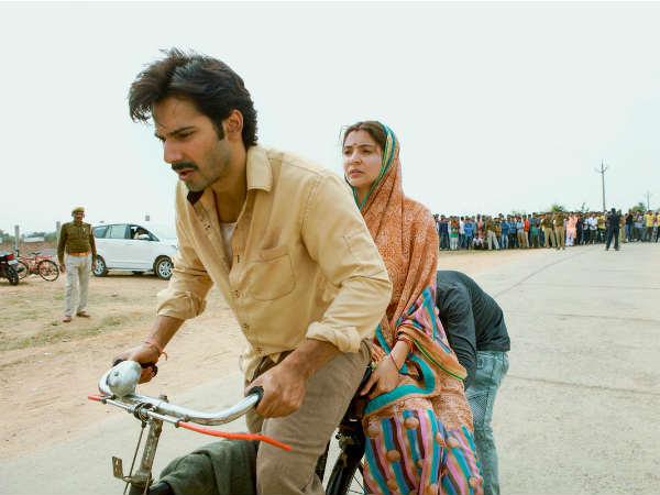 Varun Dhawan Anushka Sharma New Still From Sui Dhaaga