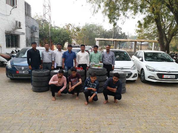 Gandhinagar Tire Thief Gang Finally Caught