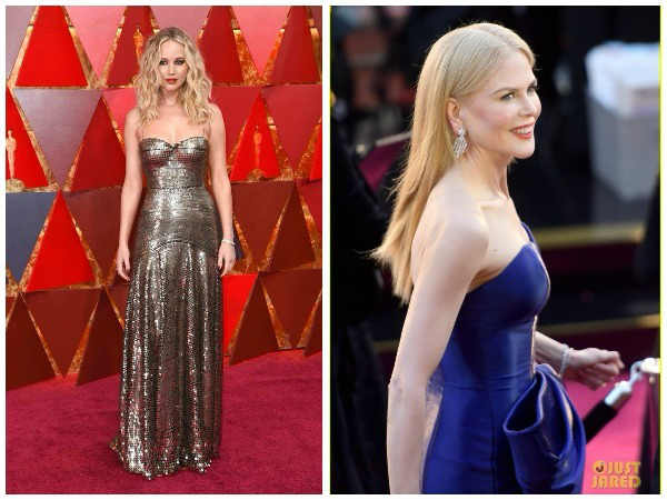 Oscars 2018 Best Dressed Celebs At Red Carpet Photos