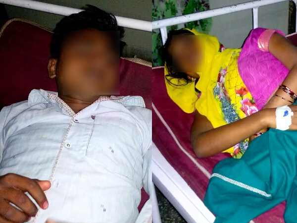Husband Wife Consumed Poison Shahjahanpur