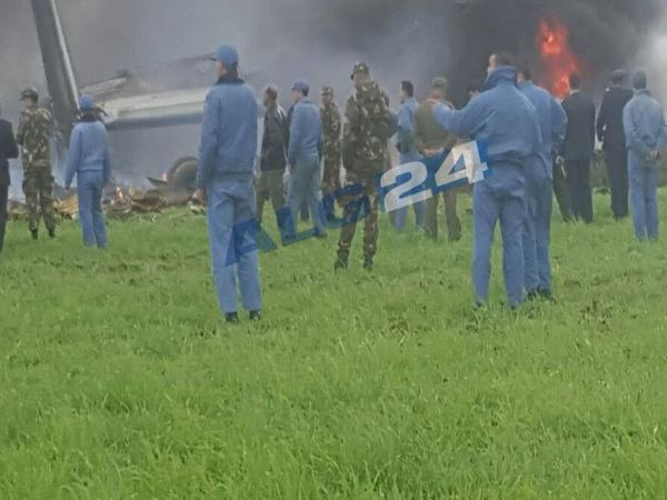 Algerian Military Aircraft Crashes More Than 257 Kill Seve