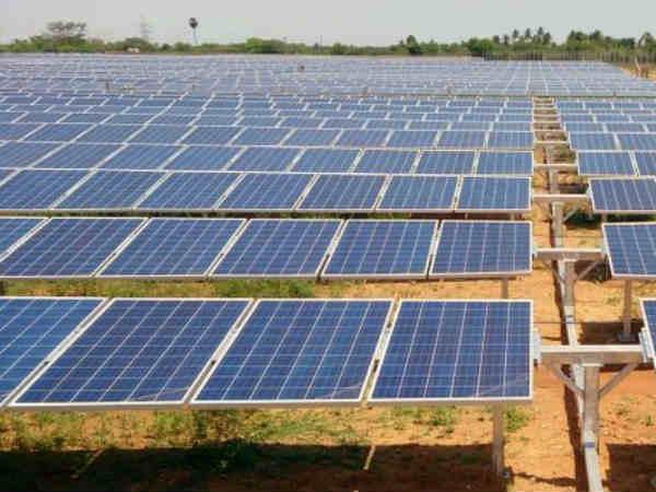 World S Largest Solar Park Come Up Gujarat Cm Vijay Rupani
