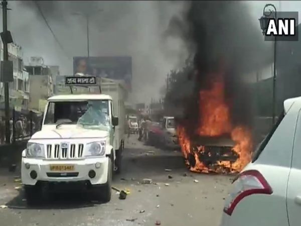 Bharat Bandh Murder Case Registered On Two Policemen Madhya Pradesh