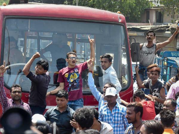 Bharat Bandh Protest Gujarat