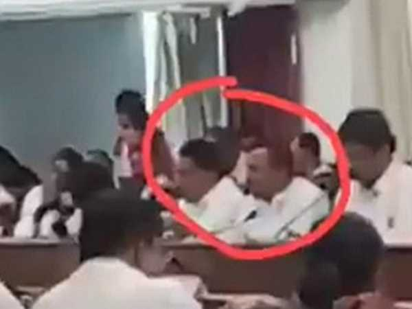 Bjp Maharashtra Mlas Sanjay Bhegade Bhimrao Tapkir Seen Eating On Upwas