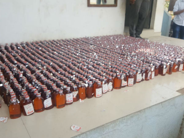 Occupied Liquor From Private Ambulance