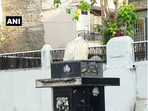 Mahatma Gandhi Statue Vandalised In Rajsamand S Nathdwara