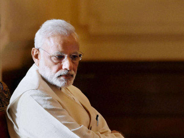 Shivsena Calls Pm Modi Mauni Baba Over His Silence On Rapes