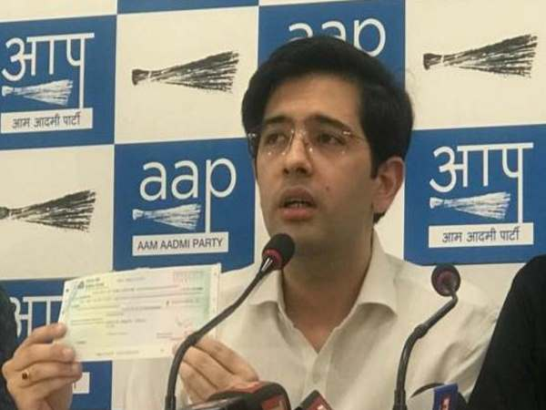 Cancellation Advisers Appointment Raghav Chadha Says He Has Returned Rs 2 5 Honorarium