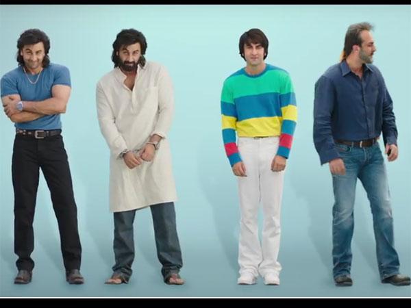 Best Scenes From Sanju Teaser Starring Ranbir Kapoor
