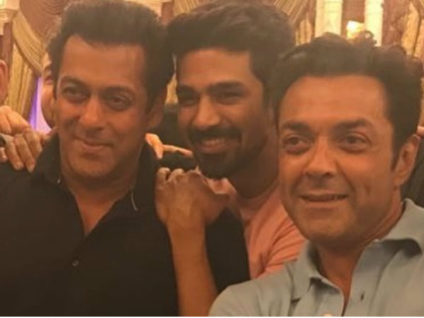 Salman Khan Has Blast With Race 3 Co Stars Saqib Saleem Birthday