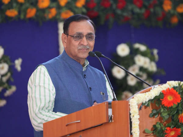 Cm Vijay Rupani Controversial Statement On Rishi Narad