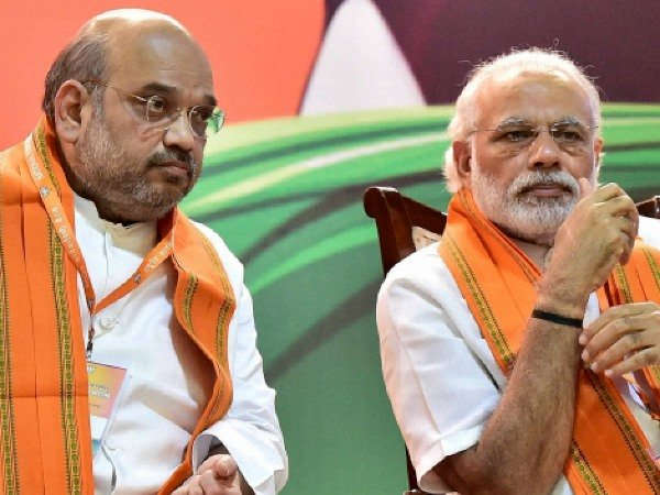 Pm Modi Amit Shah Observe Day Long Fast