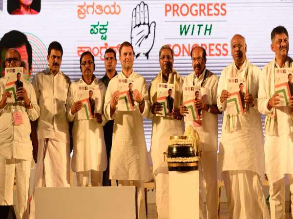 Announcement Congress In Manifesto Karnataka Assembly Election