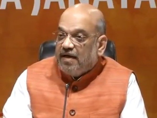 Bjp President Amit Shah Addressing Press Conference On Completion Of 4 Years Of Modi Govt