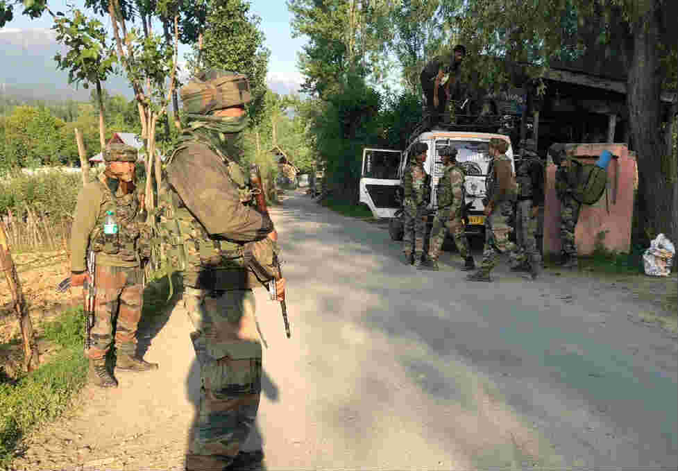 Bodies Of Two Terrorist Recovered After They Attacked On Army In Hindwara Jammu Kashmir