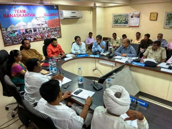 Banaskantha Pre Monsoon Plan Meeting Chaired By Minister Ishvar Parmar