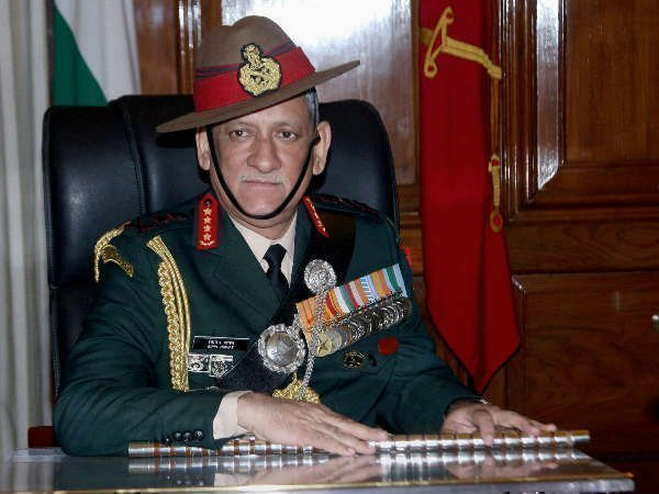 Army Chief General Bipin Rawat Says Azadi Will Never Happen You Cant Fight With Army