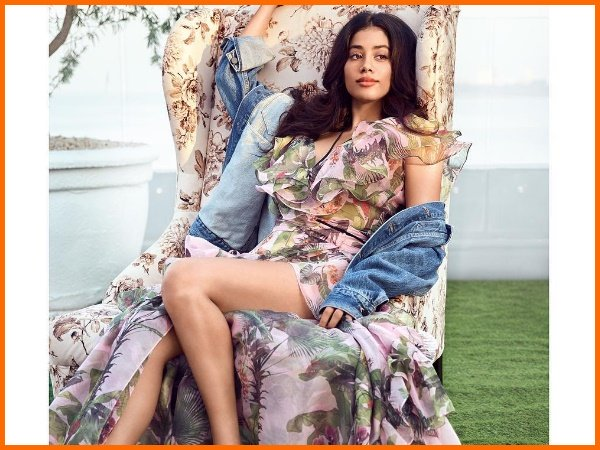 Janhvi Kapoor Sizzles On The Cover Page Vogue India Fans Go Crazy In Her Praise