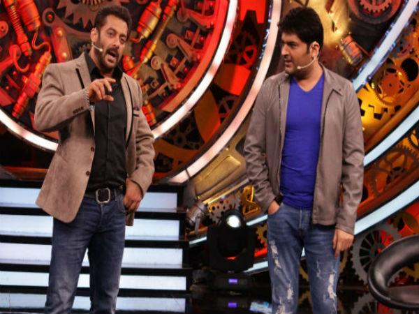 Kapil Sharma Entry Salman Khan Show Bigg Boss