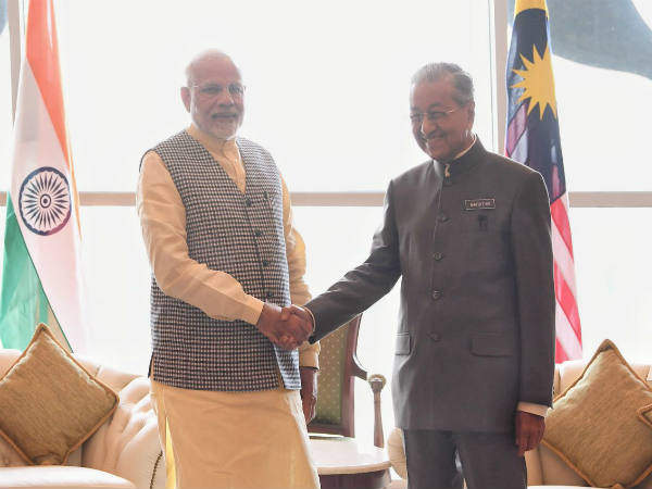 After Indonesia Pm Narendra Modi Is Kuala Lumpur Malaysia Wil Meet Mahathir Mohamad
