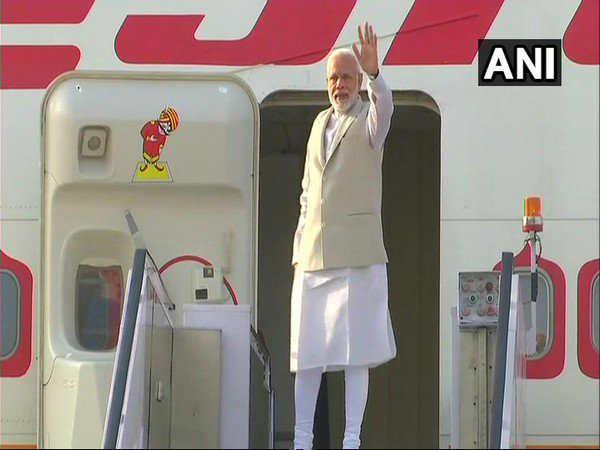 Prime Minister Narendra Modi Departs Sochi Russia An Informa