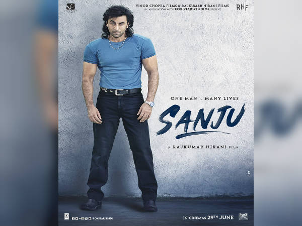 Rajkumar Hirani Releases Ranbir S New Look From Sanju