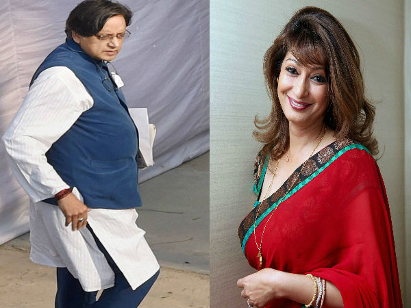 Another Sensational E Mail Comes Of Sunanda Pushkar Before Her Death To Shashi Tharoor