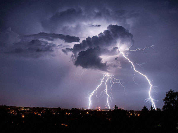 Next 24 Hours Hill States Like Uttarakhand Himachal Pradesh Continue Experience Thunderstorms