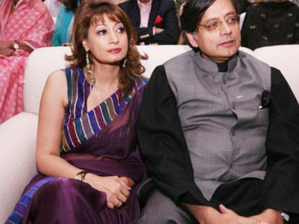 Sunanda Pushkar Killed Herself Says Delhi Police Chargesht Shashi Tharoor Suspected Of Abetment