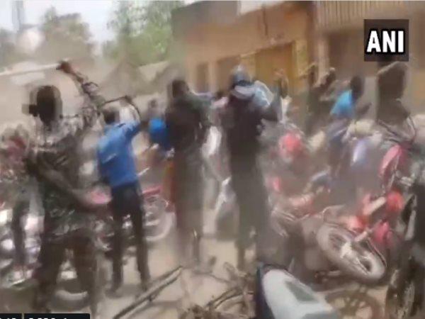 West Bengal Panchayat Elections Tmc Bjp Workers Clashed Birbhum Lathi Charge