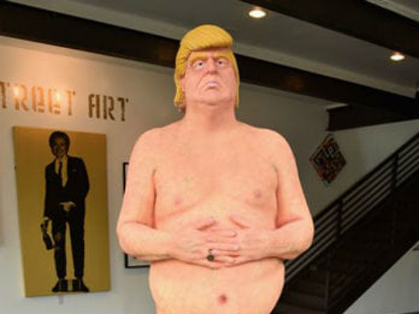 Nude Donald Trump Statue Goes 28 000 At Auction