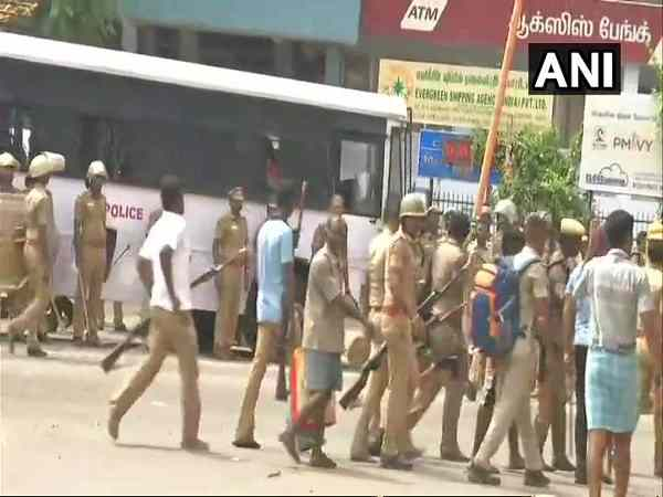 Tuticorin Protest One Person Dead 3 Injured Fresh Violence At Anna Nagar