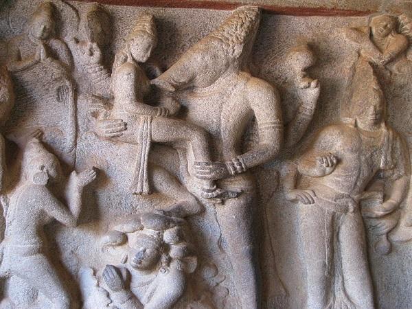 Varaha Cave Temple Mamallapuram In Kanchipuram Tamilnadu