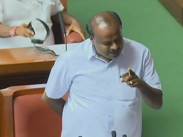 Karnataka Cm Hd Kumaraswamy Wins Floor Test After 117 Mlas Voted In His Favour
