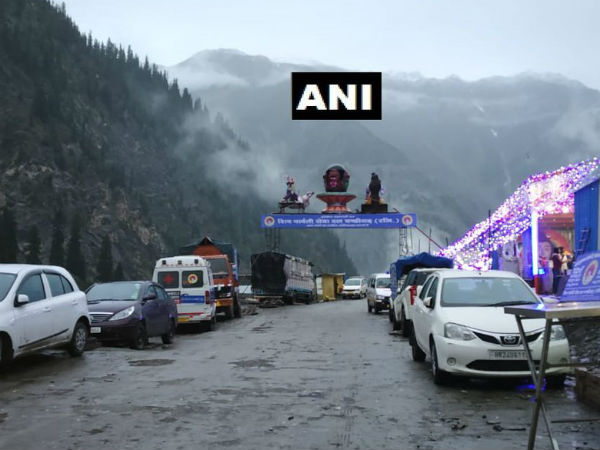 Amarnath Yatra Temporarily Suspended Due Heavy Rains Pilgri