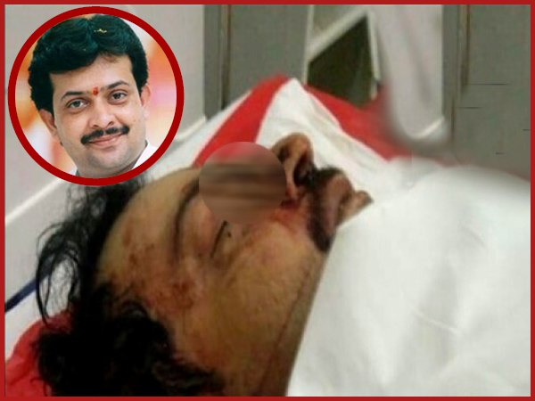 First Picture Of Bhaiyyuji Maharaj Who Committed Suicide Shooting Himself With Point Blank Range