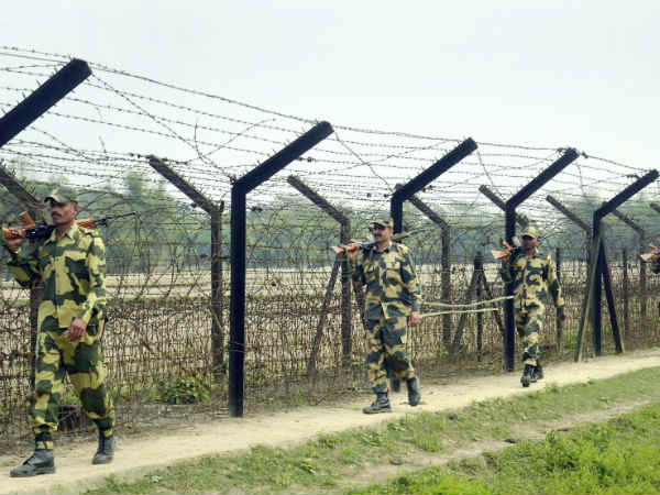 Bsf Carries Nine Strike Against Pakistan On International Border Jammu Kashmir
