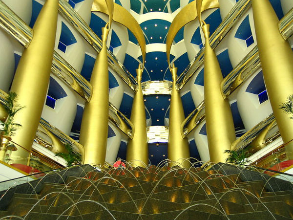 Burj Al Arab Restaurant Of Dubai Using Gold In Every Dish