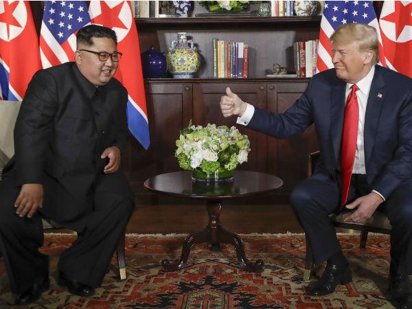 Trump Kim Meeting Live Updates At Sentosa Island Singapore