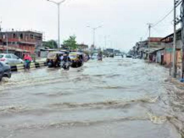 Assam Tripura Manipur Mizoram Hit Flooding Delhi Ncr Punjab Rajasthan Hit By Dust