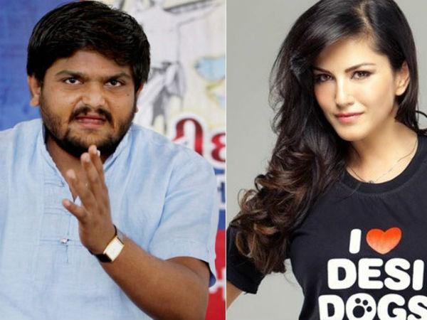Sunny Leone Deserves Respect Like Any Other Mainstream Actress Hardik Patel