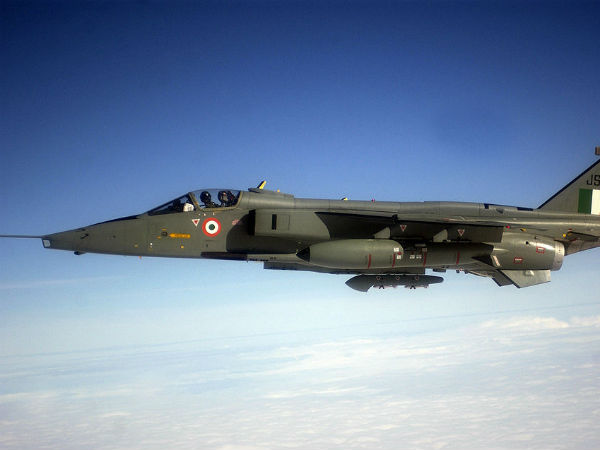 Indian Air Force Fighter Aircraft Jaguar Crashes Kutch Gujarat Pilot Goes Missing
