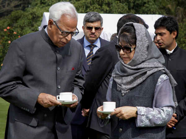 Governor Rule Imposed Jammu Kashmir After Bjp Breaks Alliance With Pdp